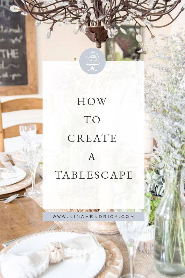 Learn how to create a tablescape with these step-by-step instructions! Tablescapes are the perfect way to decorate and celebrate for memorable occasions. #Tablescapes #TableSettings #TableDecor