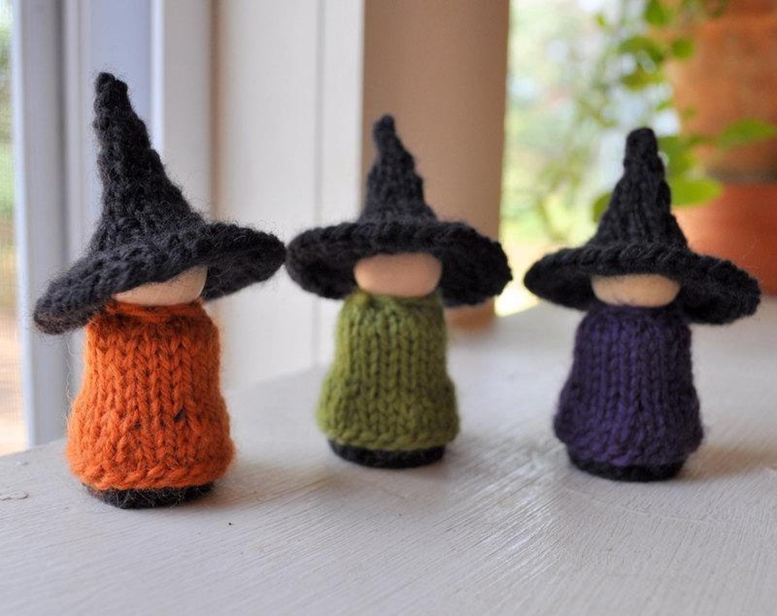 Creepy & Cute Halloween Knitting Patterns  Halloween knitting