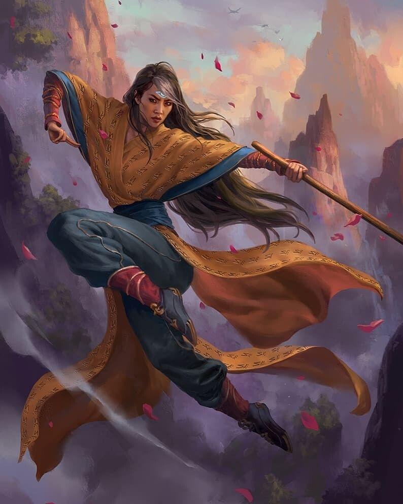Artstation Narset Enlightened Master Livia Prima Concept Art Characters Character Design Fantasy Character Design