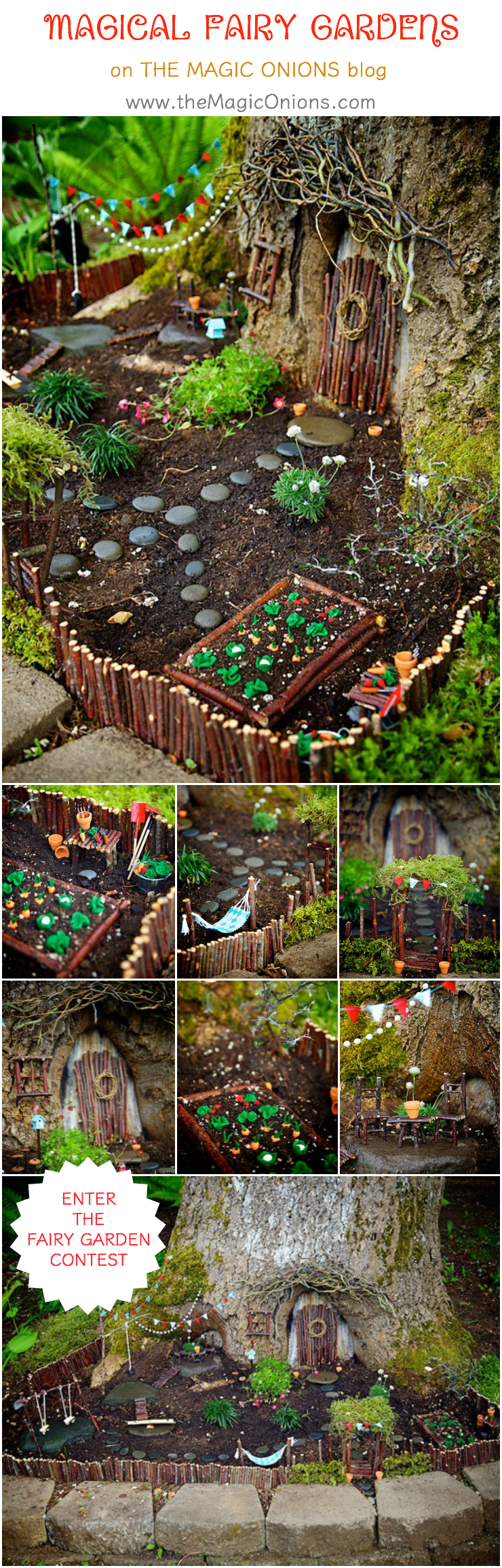 Come and see the most MAGICAL fairy gardens on The Magic Onions ...