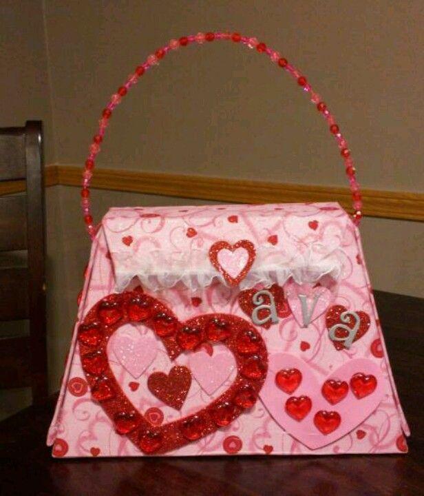 15337c17d9 Valentines purse box | holiday - valentines day | Valentine box ...