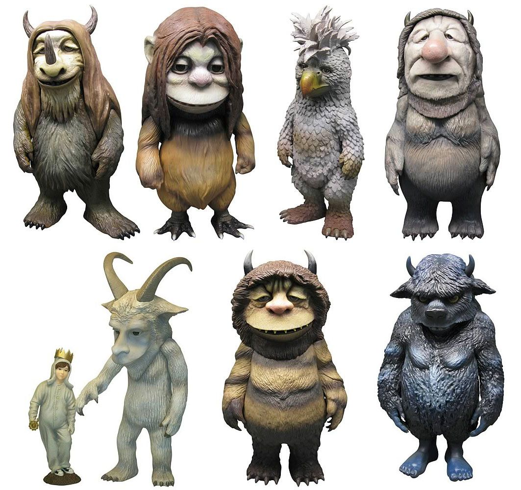 Authoritative answer, toys where the wild things are