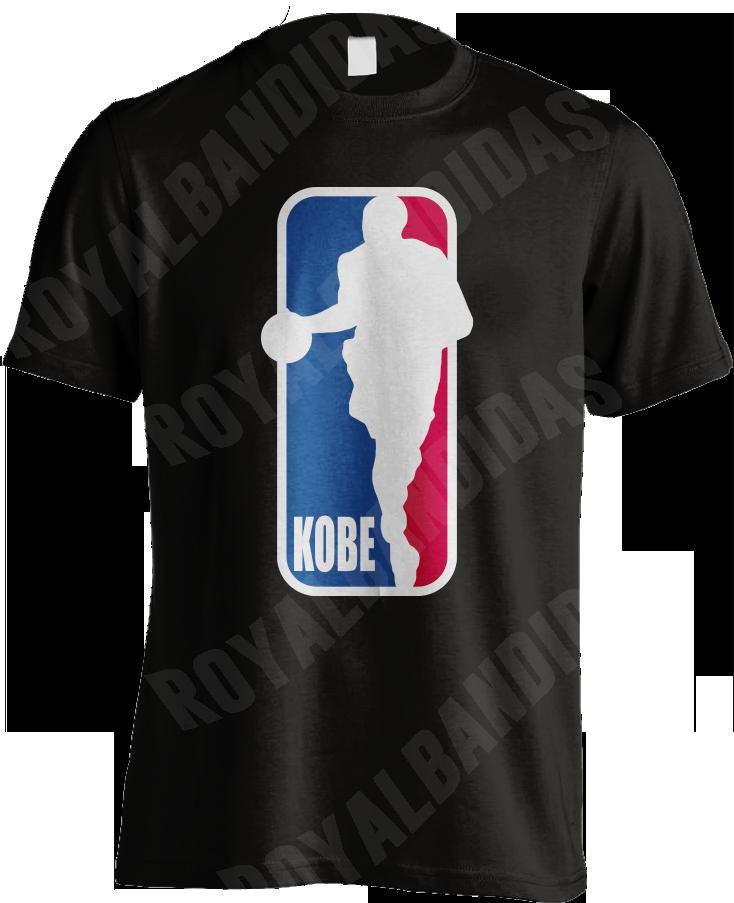 Basketball Logo with Kobe Bryant Silhouette LA Lakers