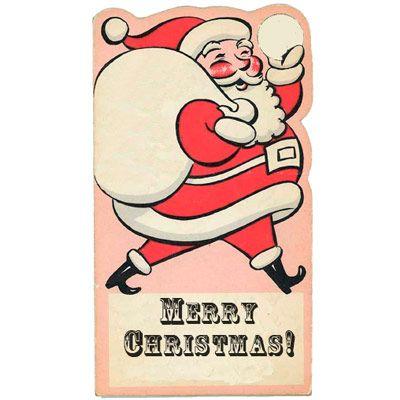 printable retro  vintage christmas and holiday gift tags holidays