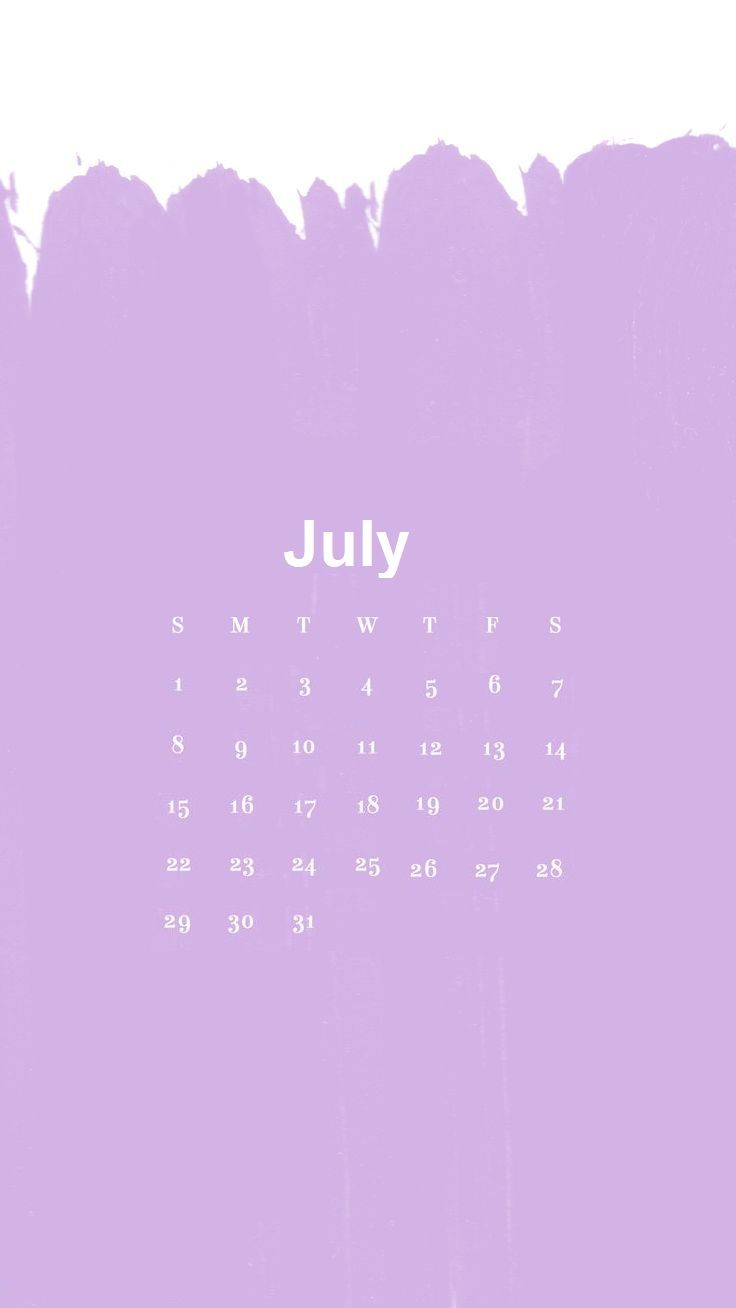 July 2018 Iphone Wallpapers Calendar 2018 Calendar