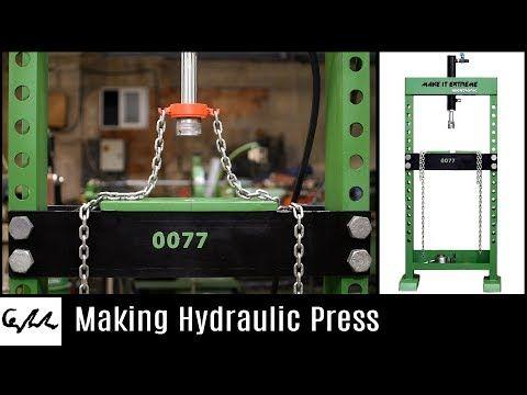 hydraulic press machine youtube plasma pinterest