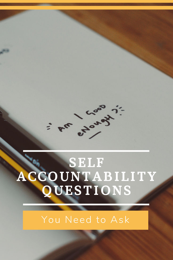 Staying Accountable by Asking the Right Questions Small
