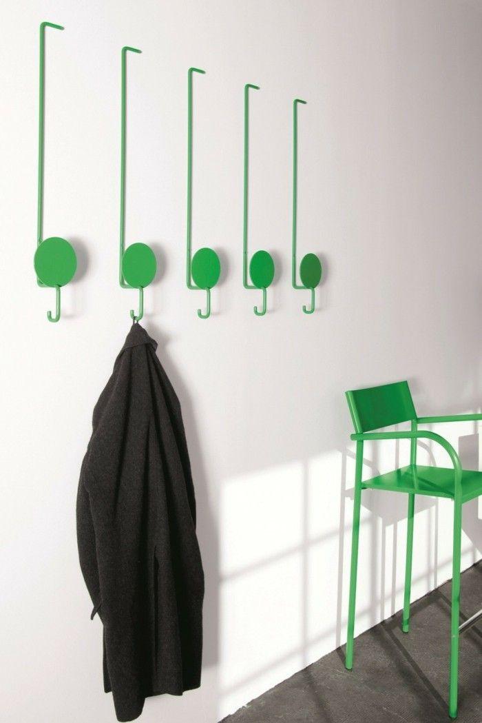 Kreative Garderobe kreative garderobe im einklang mit den mobeln einrichtungsideen