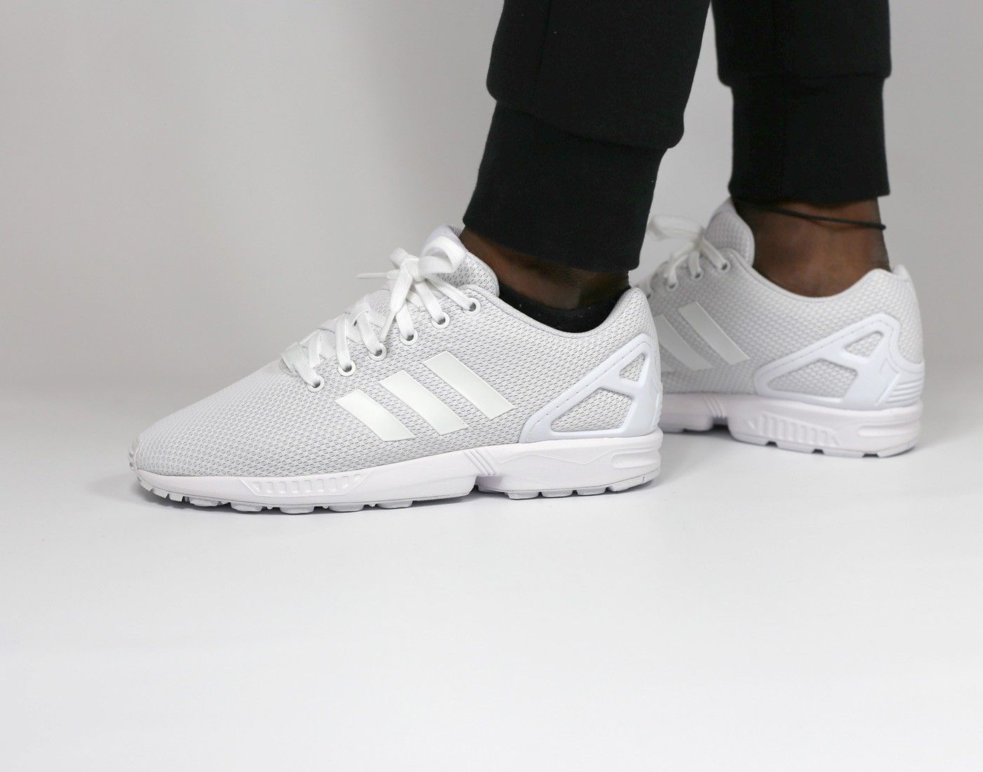 #adidas ZX Flux All white #Yousporty