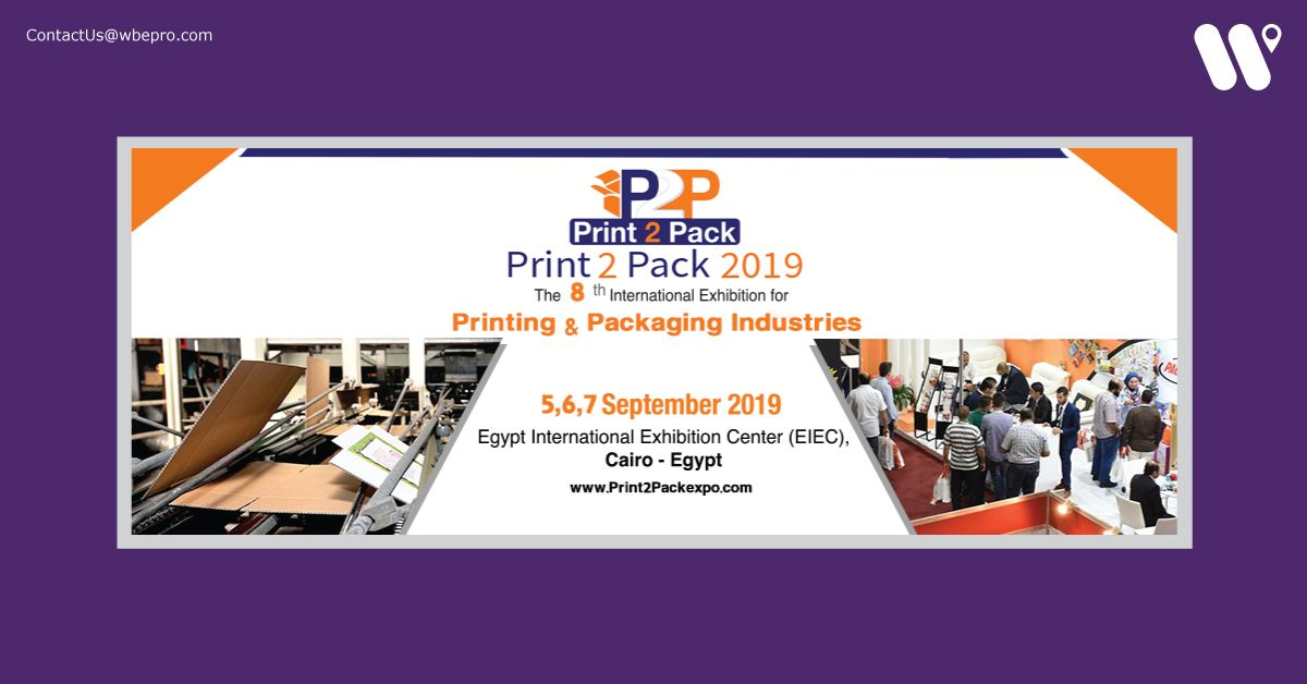 Event Name: Print 2 Pack Egypt Exhibition Date: 05 September 2019