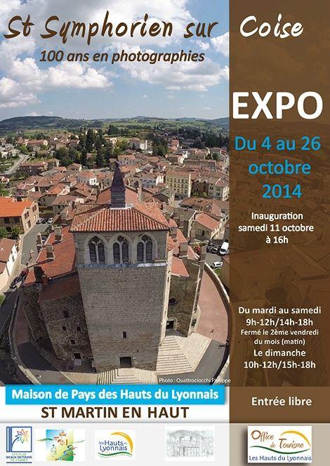 Exposition « 100 ans en photographies dans les Hauts du Lyonnais