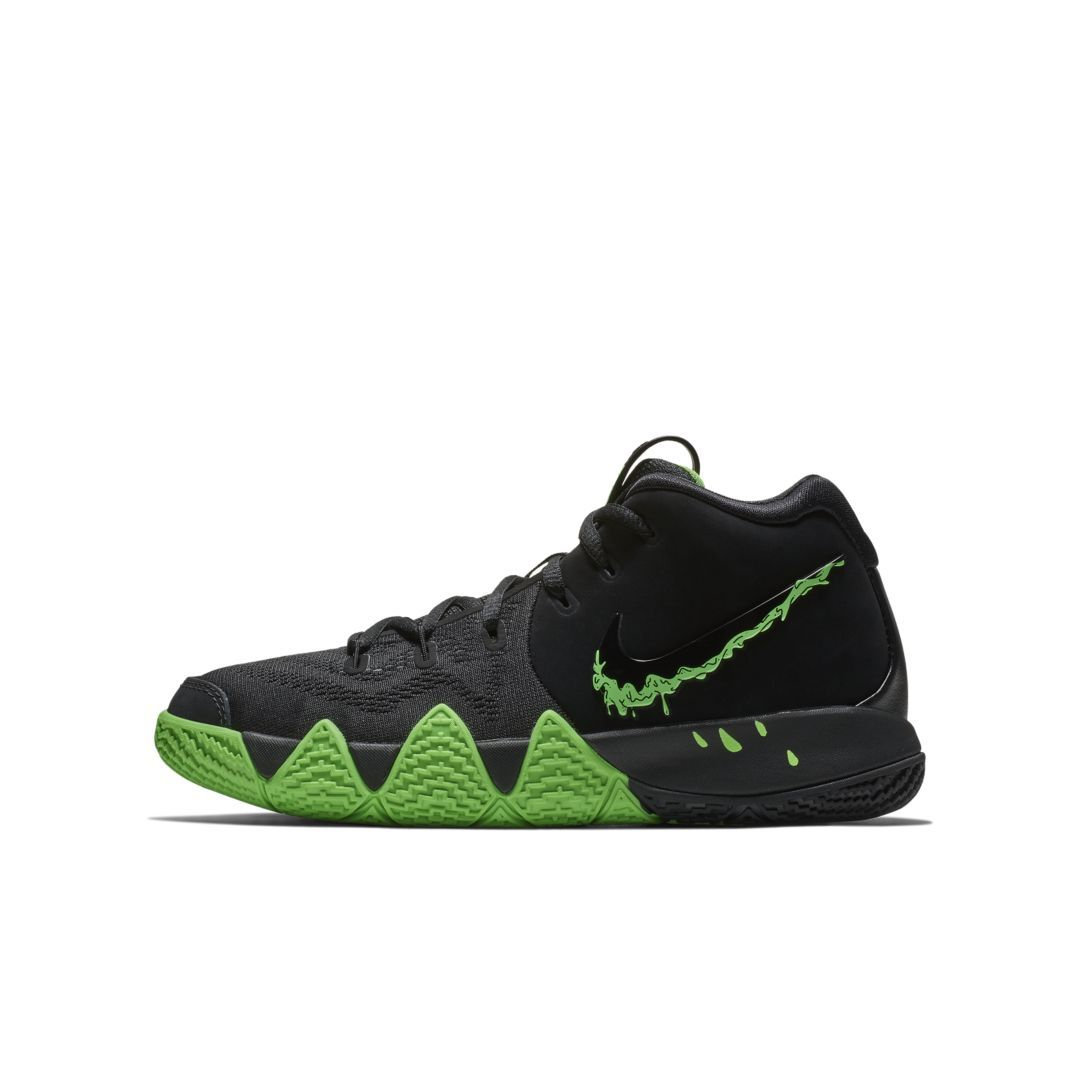 5aa837d2c850 Kyrie 4 Big Kids  Basketball Shoe Size 6Y (Black)