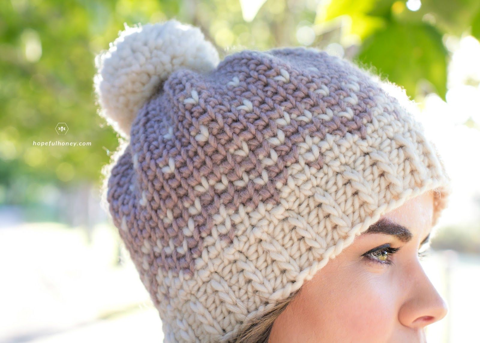 Mont Blanc Fair Isle Hat - Crochet Pattern