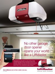 """I Saw This In """"LiftMaster"""" In Martha Stewart Living"""