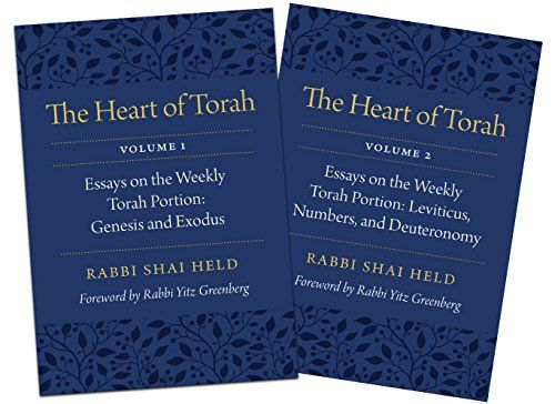 The Heart Of Torah Essay On Weekly Portion Biblical Commentary Judaism