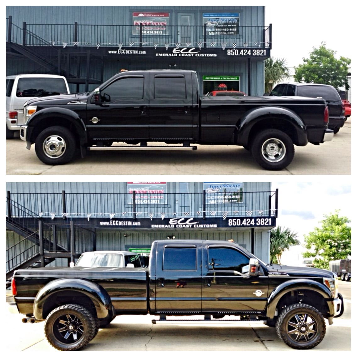 Before after ford f450 w 4 fabtech lift kit 22 fuel off road before after ford f450 w 4 fabtech lift kit 22 aloadofball