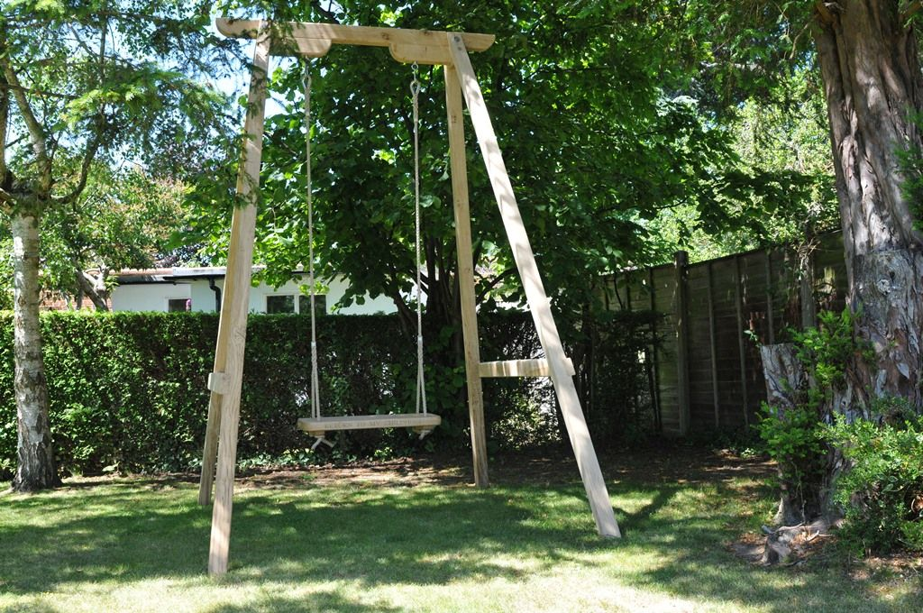 Need A Frame For You Rope Swing How About This Beauty Extra Tall For Lots Of Swinging Wooden Tree Swing Rope Swing A Frame Swing