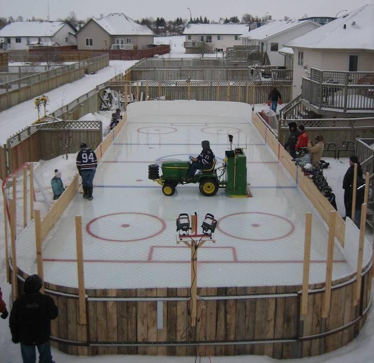 Flyers Backyard Rink