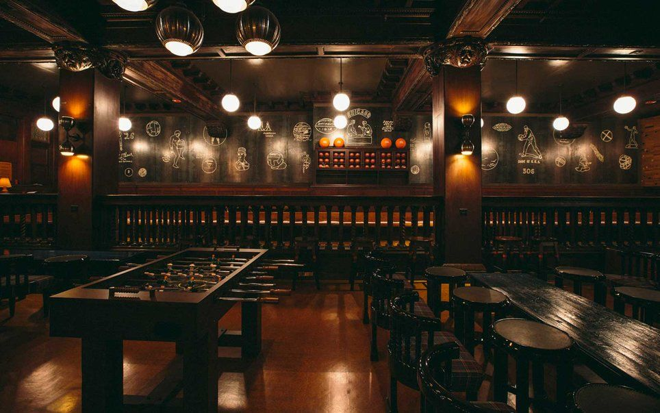 The Best Bars With Board Games In America Chicago Athletic Association Hotel Chicago Athletic Association Game Room Design