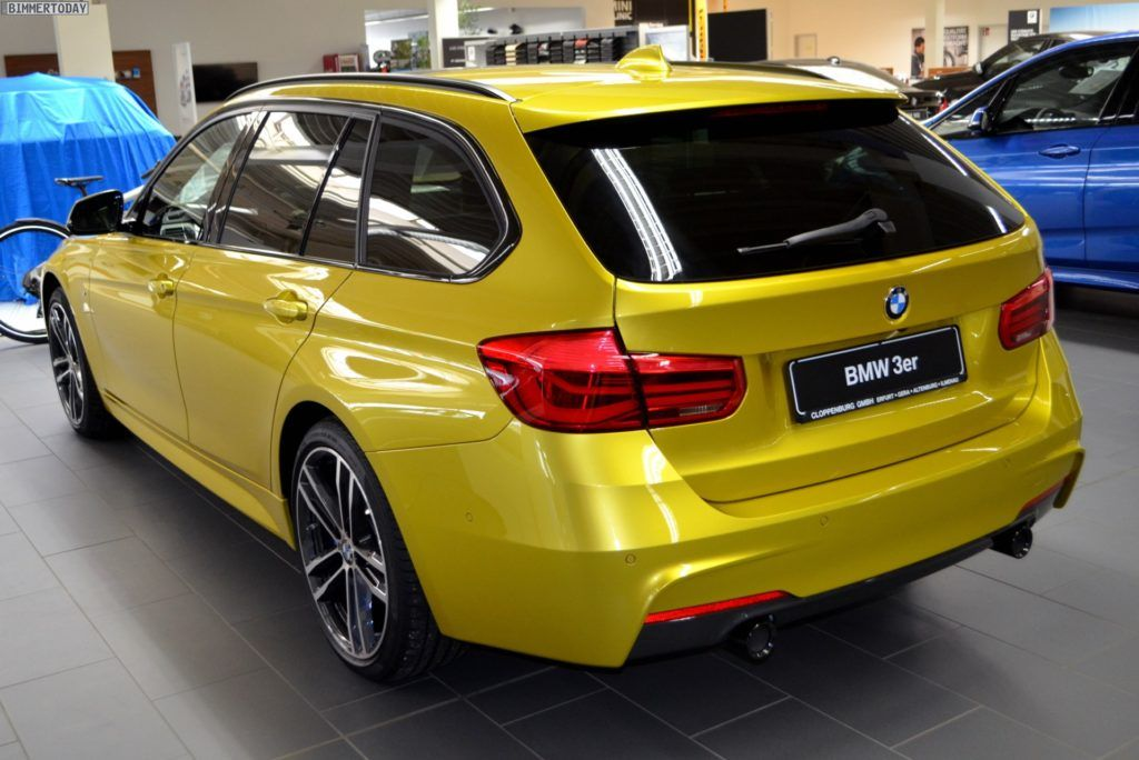 Bmw 340i Touring In Austin Yellow From Bmw Individual In 2020 Bmw Touring Bmw 320d Touring Bmw 3 Touring