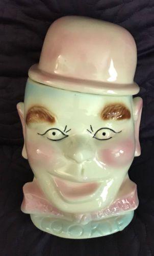 1950's Cookie Jars Pinky Lee Cookie Jar Vintage C1950's Usa Ceramic Tv Character