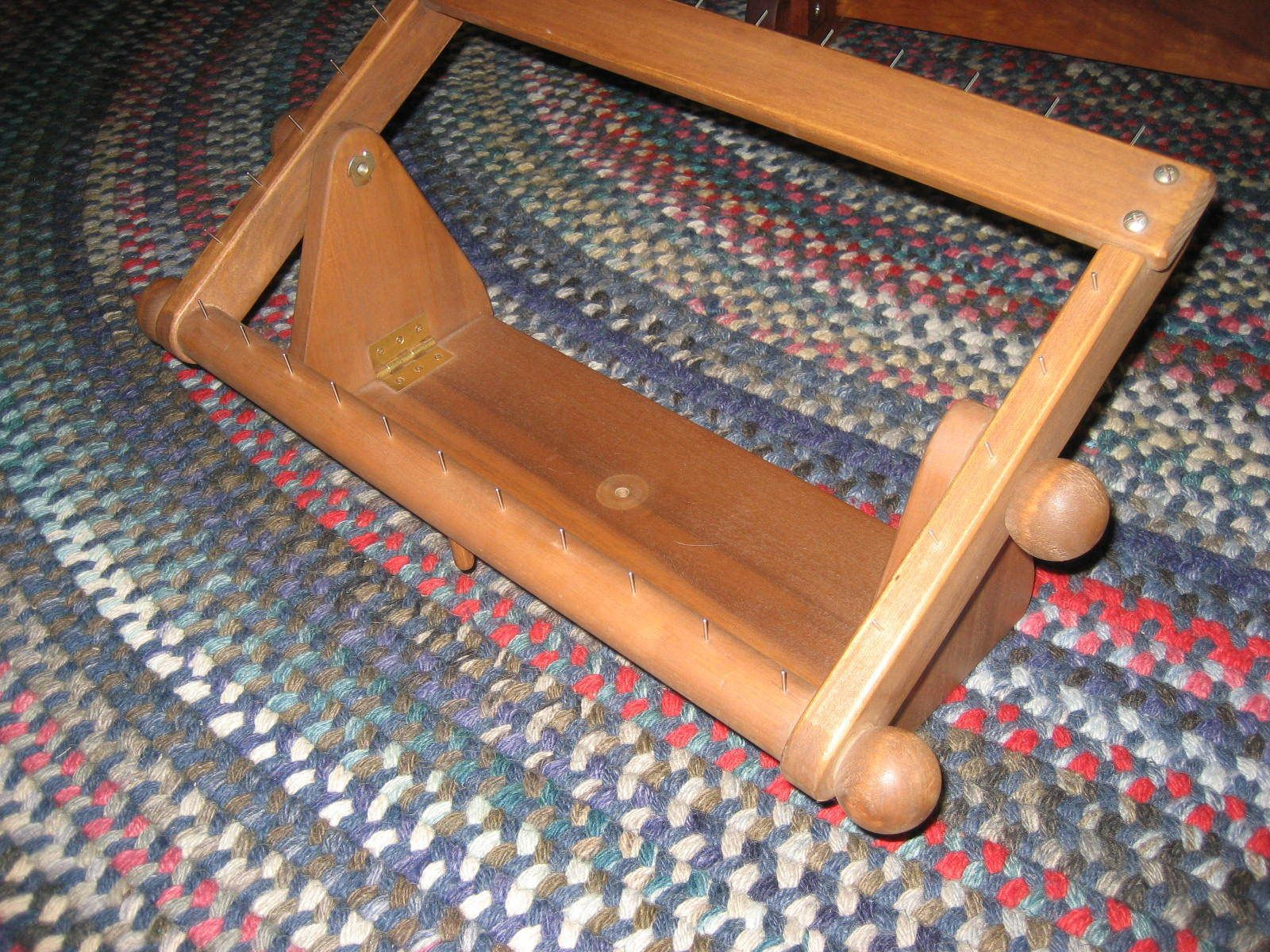 Anderson Floor And Lap Frame Combo Rug Hooking Frame Nice Size Portable Rug Hooking Frames Rug Hooking Rugs