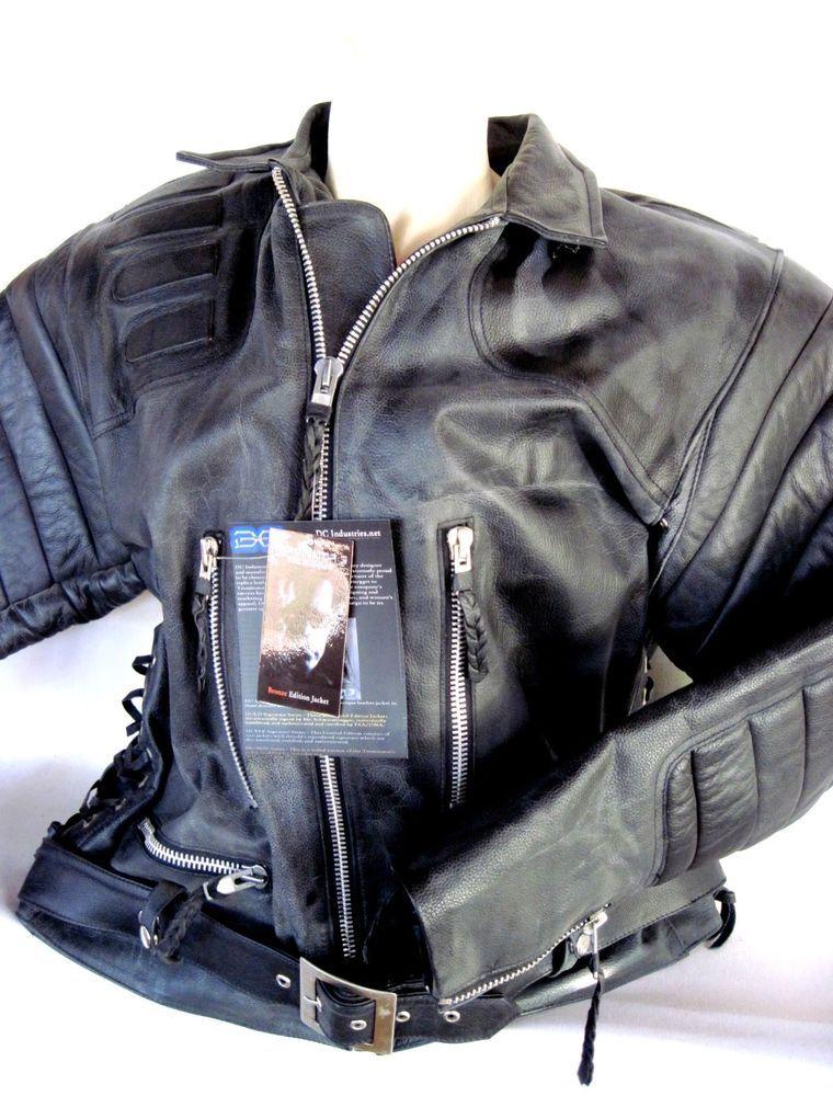 Universal Studios TERMINATOR 3 Leather Jacket Prop Replica