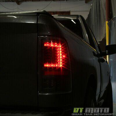 Red 2009-2018 Dodge Ram Pickup 1500 2500 3500 LED Rear Brake Lamps Tail Lights