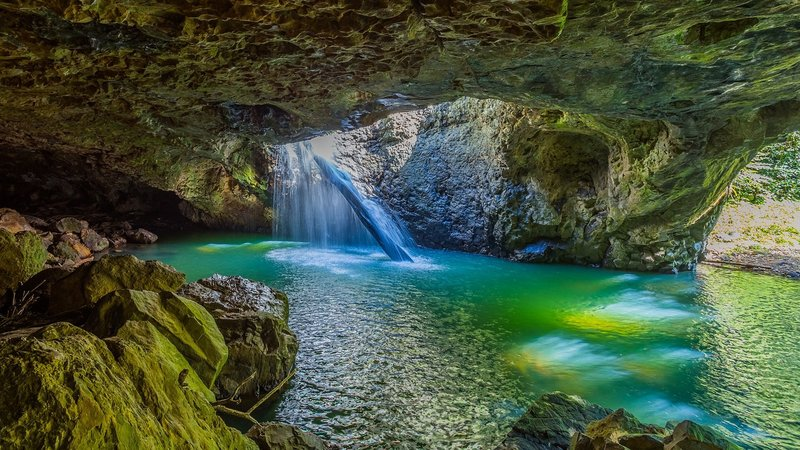 Travel Recipes and More image by K S | Natural bridge springbrook ...