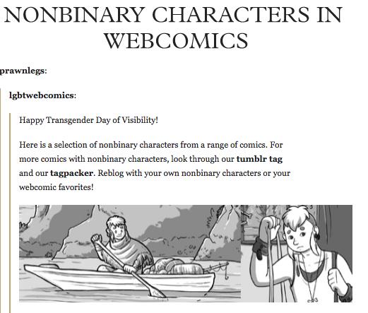 Nonbinary Characters in Webcomics | Comics etc  | Character, Comics