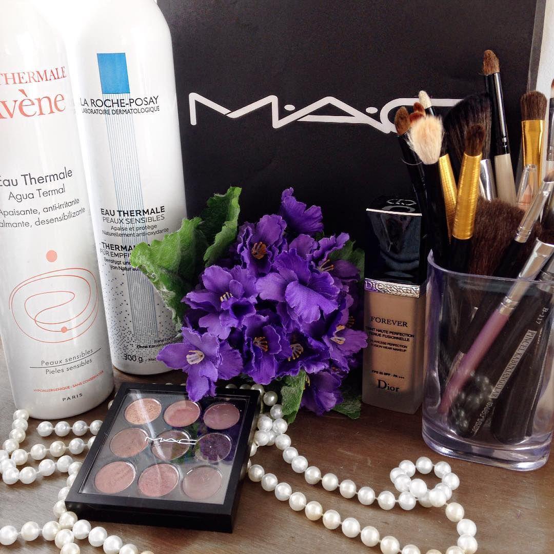 Detalhes que fazem a diferença 💜 AMO #blogdaleticia #maquiagem #makeup #maccosmetics #dior #larocheposay #avene