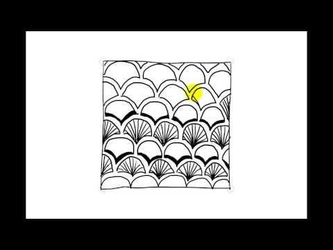 Zentangle Pattern - Fanz [Normal Speed] - Zenpopper