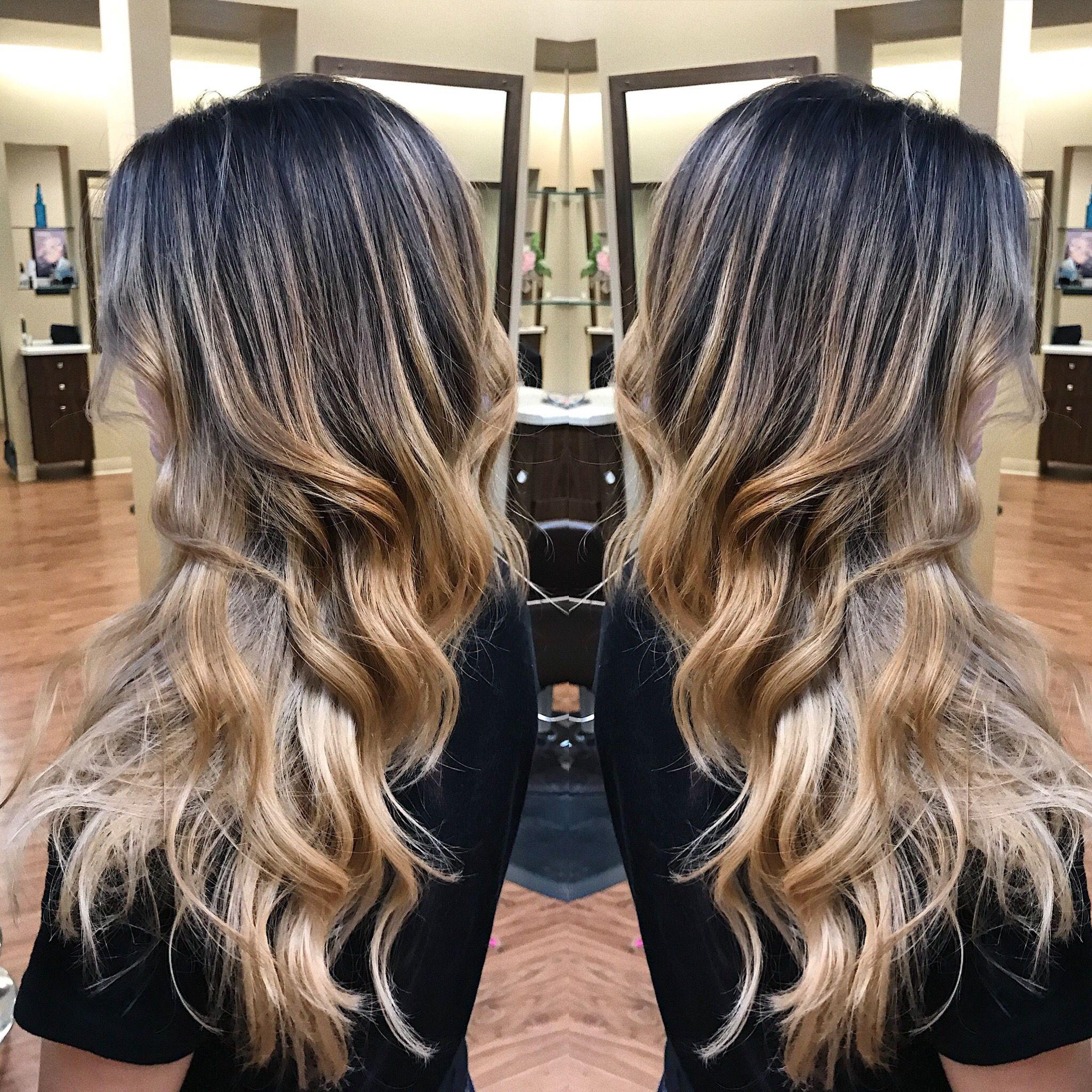 Blonde balayage Katie shefchij  Ombrebalayage  Pinterest
