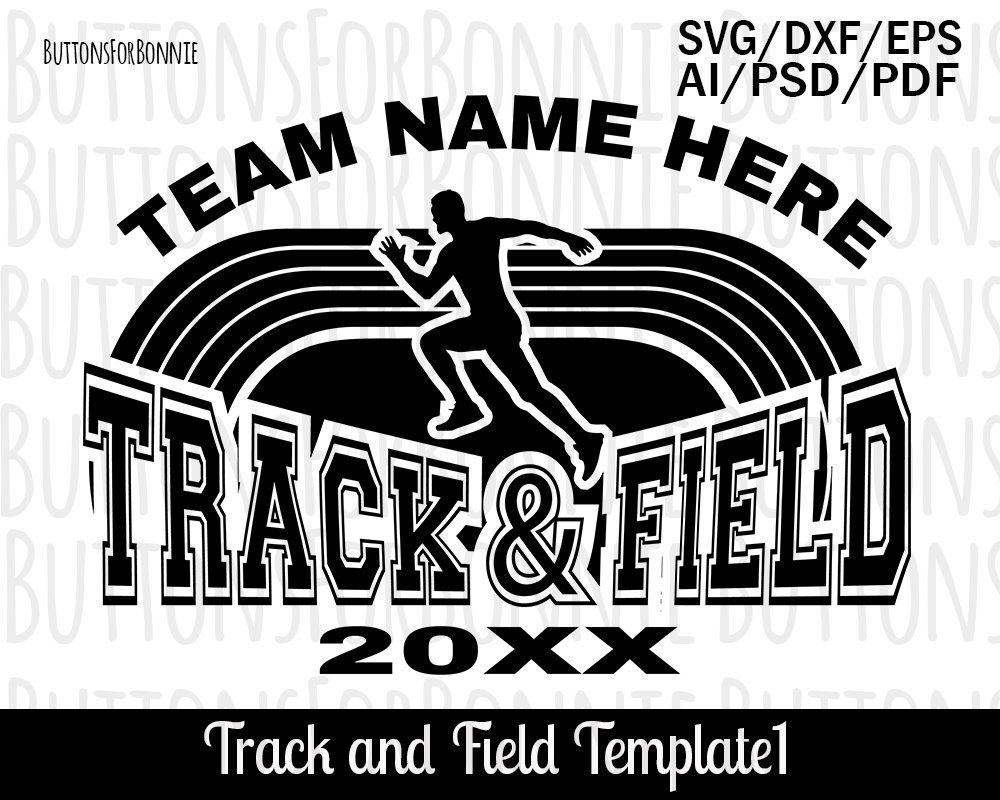 Pin on track and field