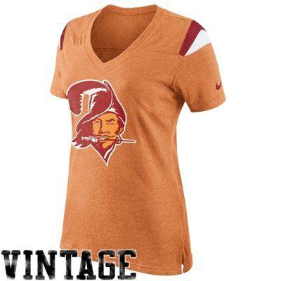 Tampa Bay Buccaneers Apparel Bucs Fan Gear Jameis Winston Jersey Pro Shop Store Gifts Retro Fan V Neck T Shirt Women