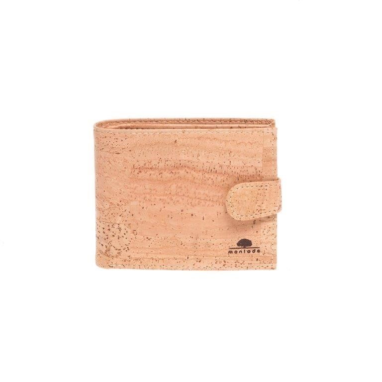 Vegan Cork Wallet with clip for Men. Made in Portugal with Portuguese cork. Eco-friendly, durable and soft to the touch. Montado – Cork Fashion.