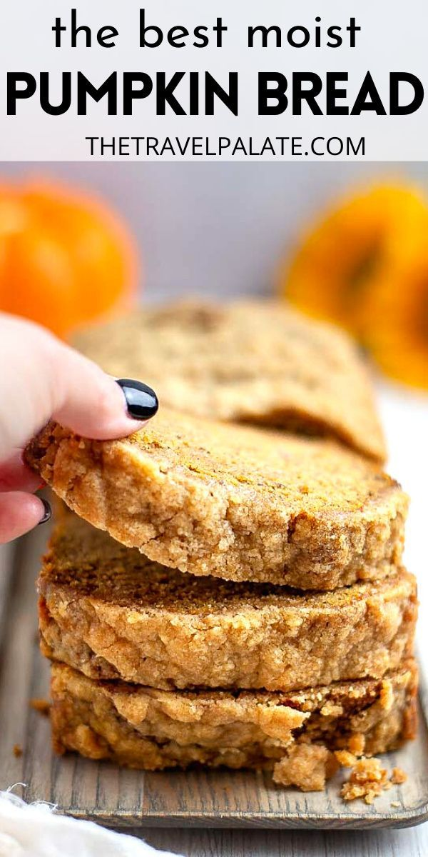 Banana Pumpkin Bread with Streusel Topping