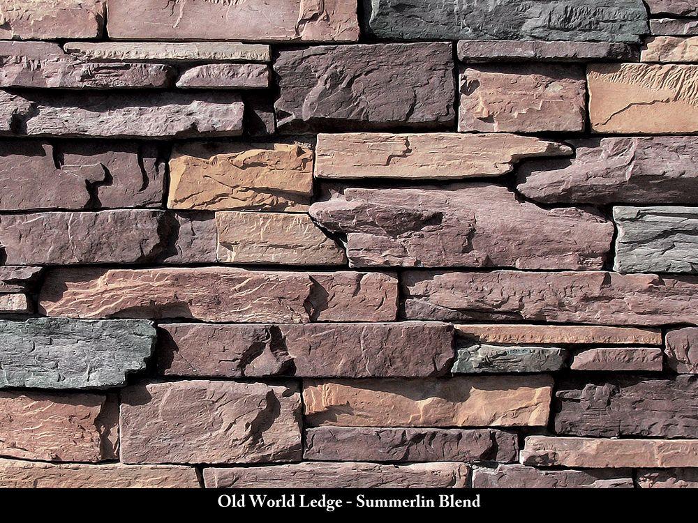 Michael Thronson Masonry Thin Stone Veneer Projects And: Old World Ledge Stone Veneer / Summerlin Blend