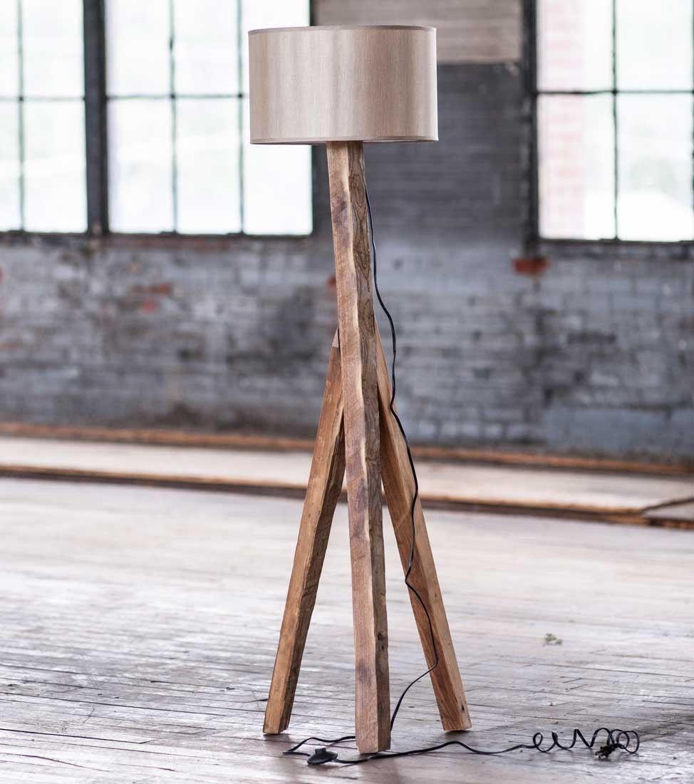 Elm Wood Floor Lamp - VivaTerra - Elm Wood Floor Lamp - VivaTerra For The Home Pinterest Floor
