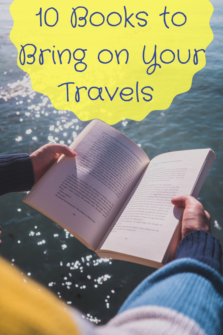 10 Books to Bring on Your Travels #travelbugs