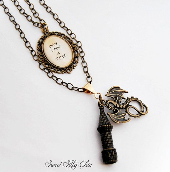 Once Upon A Time Fairy Tale Necklace
