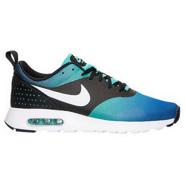 separation shoes 4746c ece9a ... discount code for nike air max tavas print mens trainers black white  light retro royal blue