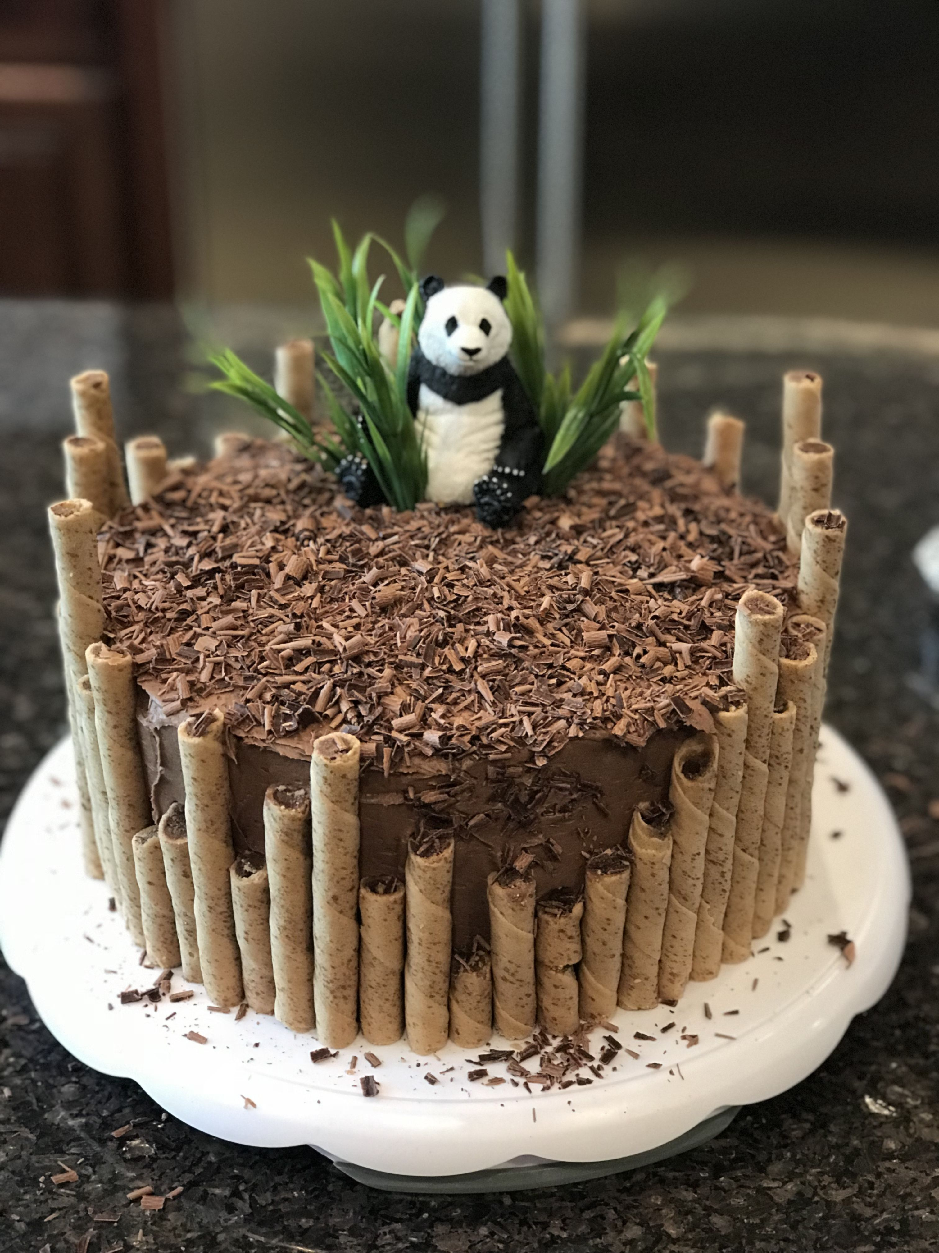 Panda Birthday Cake By Erin Farley With Images New Cake Panda