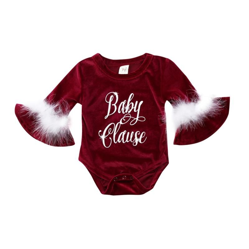e5e5665b5483 Baby Clause Romper Now available our website  http   presentbaby.myshopify.com