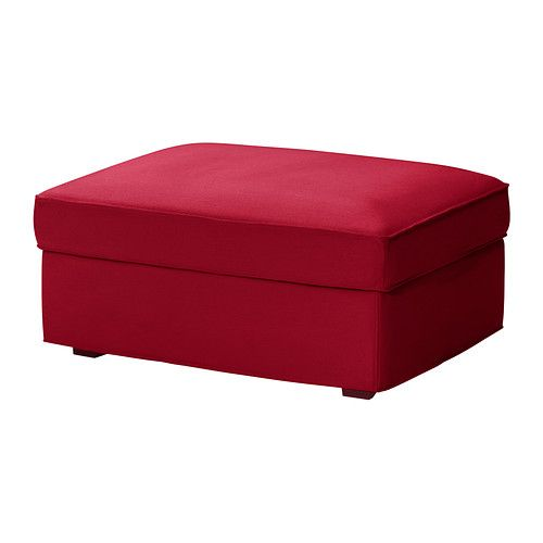 kivik hocker mit aufbewahrung dansbo mittelrot ikea living room pinterest hocker und ikea. Black Bedroom Furniture Sets. Home Design Ideas
