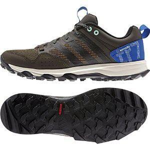 Adidas Outdoor Kanadia 7 Trail Running Sneaker Shoe - Umber/Black/Blue - Mens - 11