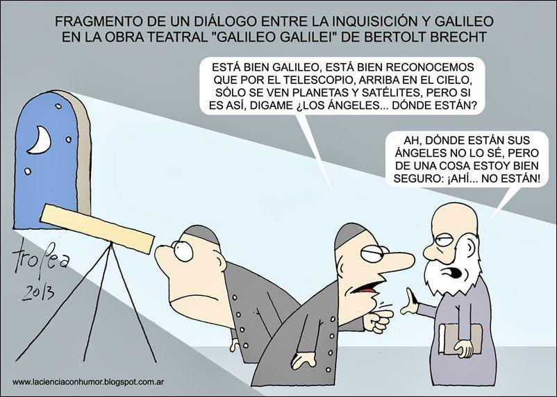 A Galileo Galilei en el 452º aniversario de su nacimiento. | Matemolivares