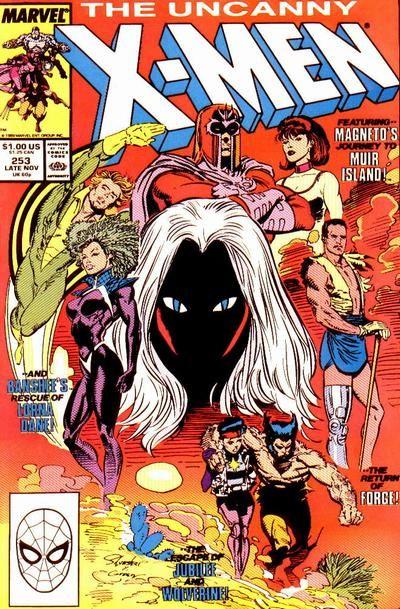 Uncanny X-Men # 253 by Marc Silvestri & Dan Green