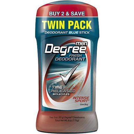 Degree Men Intense Sport Stick Fresh Deodorant 3 Oz Pack Of 2