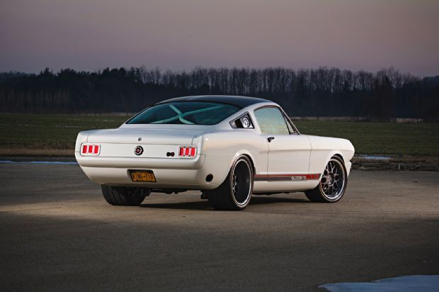 1965 Ford Mustang Blizzard Ringbrothers Rear Quarter